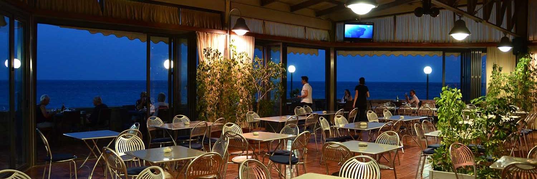 Sala Ristorante Del Camping Paradise Taormina