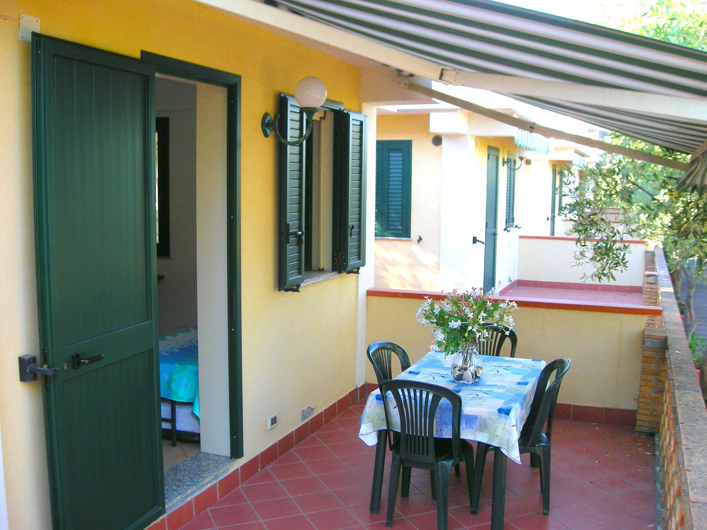 esterno del bungalow
