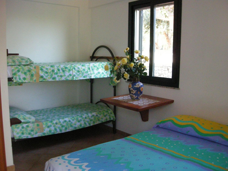 interno del bungalow