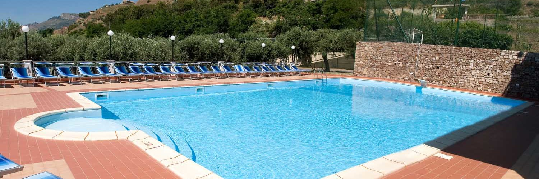 Piscina Del Camping Paradise Taormina
