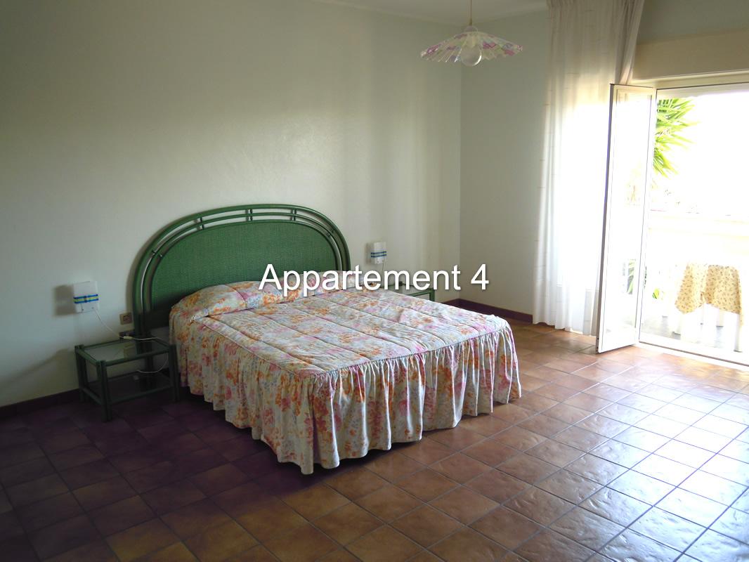 stanza da letto appartamento 4