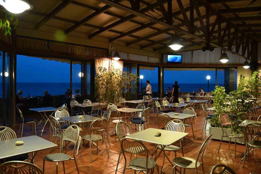 Ristorante sul mare di Taormina